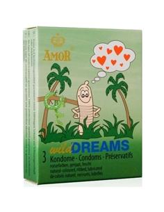 Preservativos Wild Dreams - 3 Unidades - PR2010323549
