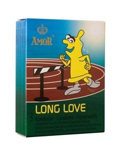 Preservativos Retardantes Long Love - 3 Unidades - PR2010318594