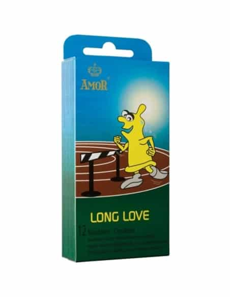 Preservativos Retardantes Long Love - 12 Unidades - PR2010318593