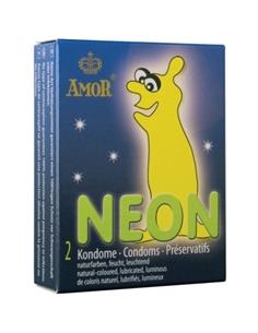 Preservativos Fluorescentes Néon - 2 Unidades - DO29904142